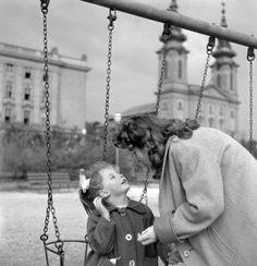 1950-es évek végén Budapesten.