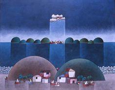 Inos Corradin(1929~)「Port de mer」
