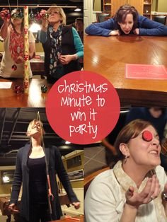 Christmas Minute to Win it Party | creative gift ideas & news at catching fireflies