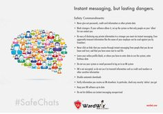 What safety measures to follow while using instant messaging? Stay protected!! #safechats #wardwiz #antivirus