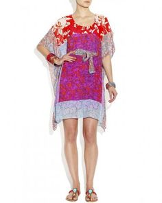 Patchwork Georgette Caftan - could be recreated in so many fabrics