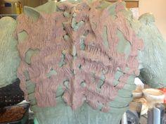 Big Ben back sculpt
