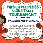March can be a long month! This March Madness Basketball Tournament math project is Common Core aligned and can even be used as an independent project for your kids! My kids love it! Math Resources, Math Activities, Educational Activities, Factors And Multiples, Math Enrichment, Math Classroom, Classroom Ideas, Math Math, Kids Math