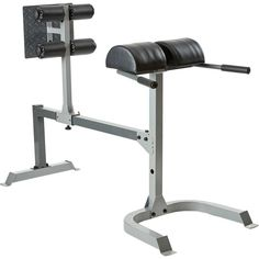 Fitness Gear 2017 Pro GHD Weight Bench, Silver