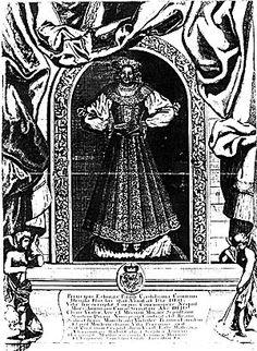 Catafalque picture of Orsolya Esterházy
