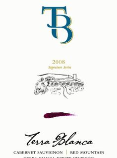 2008 Terra Blanca Signature Series Cabernet Sauvignon 750mL -- Check out the image by visiting the link.