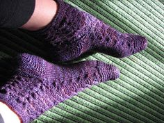 Knit Better Socks: Toe-up Flap Heels - the Recipe with Template