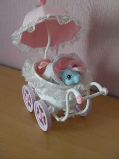 My Little Pony Baby Buggy with Cuddles by ♥ Cupcake, via Flickr