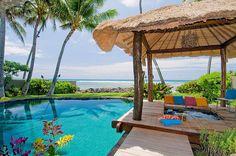 Gazebo, Tropical, Pool with Hot Tub