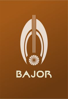 Star Trek Logo Bajor Flat Design