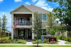 """M/I Homes of Orlando. The Barrington floor plan. 3 bedrooms, 2.5 bath. Multiple living spaces and gathering areas both indoors and out define """"space in the right place."""" #POH2014 #OrlandoHomes #Orlando"""