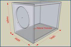 subwoofer box design for 12 inch google search system s subwoofer box design subwoofer. Black Bedroom Furniture Sets. Home Design Ideas