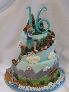 Cakewalk Catering provides custom cakes, cookies, gift baskets and wedding cakes for all of Muskoka. Novelty Birthday Cakes, 40th Birthday Cakes, Cupcakes, Cupcake Cakes, Running Cake, Rock Climbing Cake, Camping Cakes, Sweet Sixteen Cakes, 7 Cake