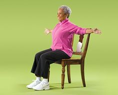 Age-appropriate exercises: increase the flexibility in your chest.