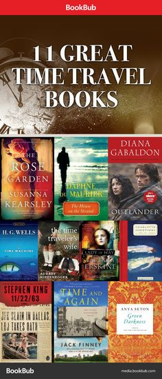 Here are 11 of our favorite time travel books worth reading, including Outlander and The Time Traveler's Wife.