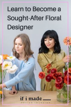 INTRODUCING The Art and Business of Flowers with Studio Mondine... An in-depth online course teaching you everything renowned florists, Studio Mondine, know about designing wedding florals and running a thriving business... Florists, Bridesmaid Gifts, Wedding Accessories, Flower Designs, Floral Wedding, Paper Flowers, Wedding Ceremony, Floral Design, How To Become