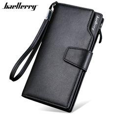 c733bc7680 Online Shop Top Quality leather long wallet men pruse male clutch zipper  around wallets men women money bag pocket mltifunction