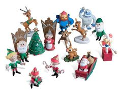 RetroFestive.ca - Rudolph Ultimate 14-piece Holiday Figurine Collection, $49.99 (http://www.retrofestive.ca/rudolph-ultimate-14-piece-holiday-figurine-collection/)