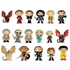 Funko Game of Thrones (Series 2) Mystery Mini Vinyl Figure *** Continue to the product at the image link. (This is an affiliate link) #ActionFiguresStatues