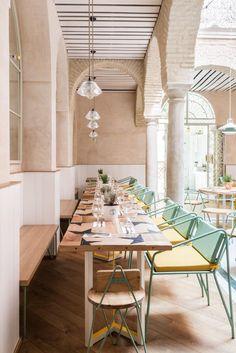Restaurante El Pintón por el estudio Lucas y Hernández-Gil #interiordesign #restaurant