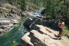 2. Yaak River Falls, near Yaak  13 Montana Swimming Holes That Will Make Your Summer Epic