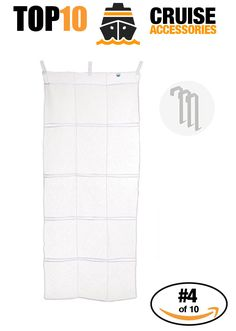 Cruise Accessories most purchased on Amazon. #4 of 10 - Cruise Cabin Hanging Organizer. Click to see all 10!