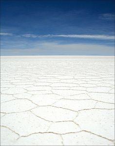 WE SEE BEAUTY // Geometry of the Earth // Salt Flat