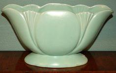 Turquoise English Art Deco Vase by Adfabrum on Etsy, €65.00