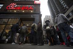 New York Chick-fil-A Stores Bustling With Business Despite Mayor De Blasio's Boycott Call