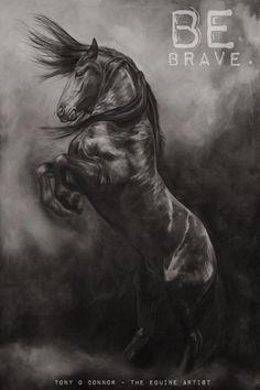 40 awesome horse tattoos horse for Tony robbins tattoo