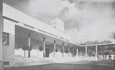1934 -1936 LA SPEZIA (SP) CASA DEL BALILLA by MANLIO COSTA, GIOVANNI DAZZI