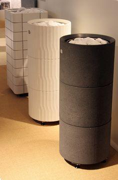 Habitare 2013. Tulikivi lattiamalliset sähkökiukaat - Tulikivi sauna heaters