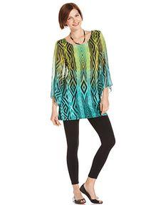 Amazing colors. Kind of a crazy pattern LOL but I dig it. #Macys #FallFashion #sponsored