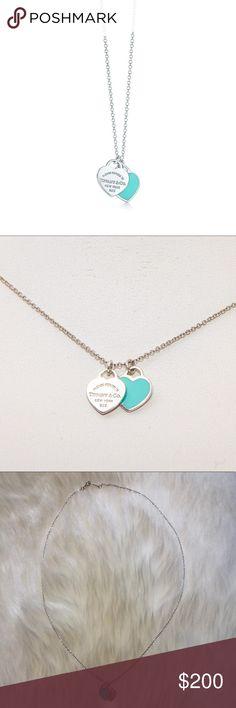 2c050e384da1 Spotted while shopping on Poshmark  Tiffany and Co double heart tag pendant!   poshmark