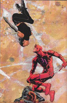 Another Murdock Triangle Gone Awry in Daredevil V2 #14 - Joe Quesada & Mark Morales