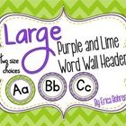 YAY!   These will be my word wall headers this year... Love! Them!!!