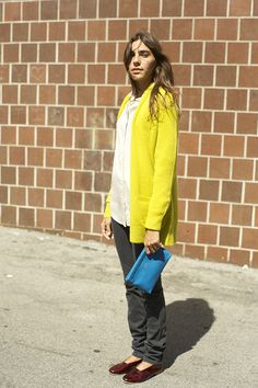 Zucca cardigan, chartreuse | MNZ store