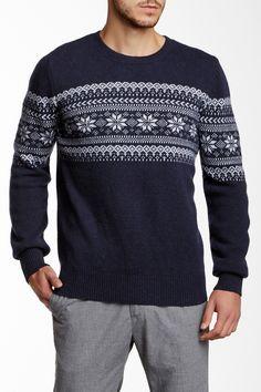 Barque | Wool Blend Fair Isle Sweater | Nordstrom Rack