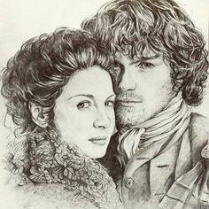 Gorgeous Outlander art