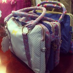 Gorgeous earth squared bags!