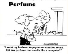 computer perfume...