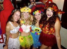 four seasons halloween group costume
