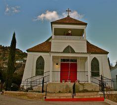 St. John's Episcopal Church in Bisbee, Arizona.