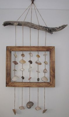 Shell mobile Shell wind chime shell decoration by Whisperingshells, $78.00