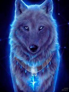 Волк - анимация на телефон №1314598