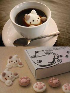 Japanese Cat Marshmallows