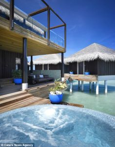 Velaa Private Island in the Maldives opened this month