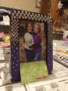 DIY picture frame!:)
