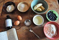 Blueberry Banana Bread — The Bite House Blueberry Banana Bread, Home Recipes, Sweet Tooth, Oatmeal, Bakery, Food Porn, Eat, Breakfast, Cape Breton
