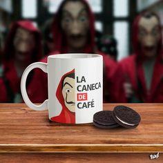 ・ ・ ・ Check who loves Café or La Casa de Papel . Choses Cool, Love Cafe, Nerd Room, Posca, Cute Mugs, Diy Desk, Mug Designs, Mug Cup, Boho Decor